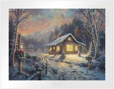 Thomas Kinkade Holiday Tradition 18 x 24 S/N Limited Edition Paper