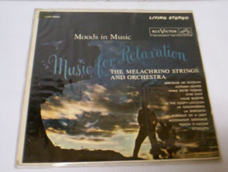 """Music for Relaxation"" RCA Victor Record"