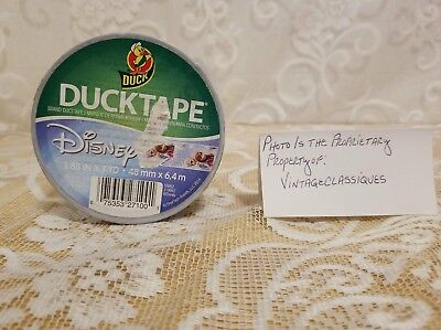 Disney Frozen Ducktape Brand Duct Tape With Anna And Elsa 1.88 In7yd New