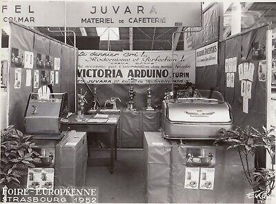 Machines à café Juvara  Victoria Arduino,Foire Européenne Strasbourg 1952, used for sale  Shipping to Canada