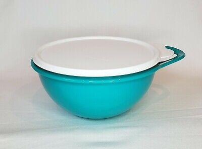 Tupperware Thatsa Bowl Mini 6 Cup Teal Blue Green w/ White Seal NEW FREE US Ship