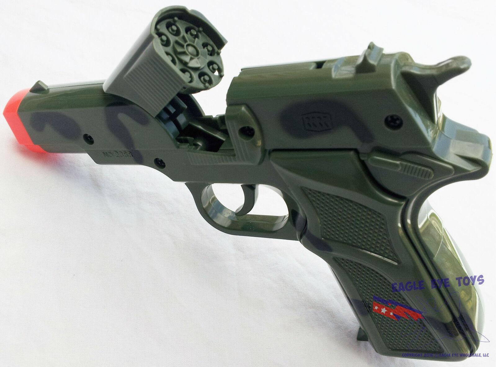 Toy Gun Military Detective 9MM Pistol Cap Guns - CAMO