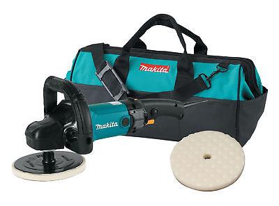 Makita 7 in. Polisher Loop Handle with Foam Pad and Bag 9237CX2 (Makita Polishing Pads)