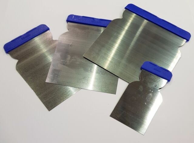 Stainless Steel Bladed Euro Filling Knives - 4 Pack