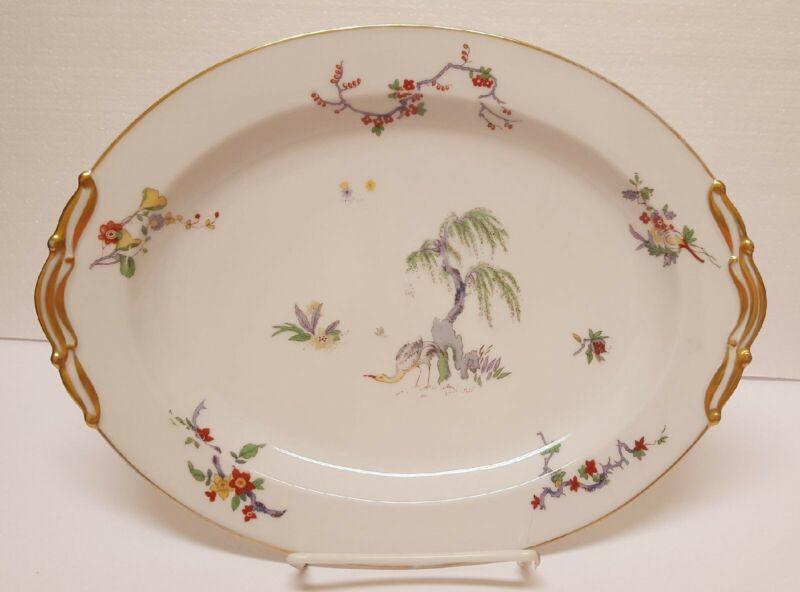 Bernardaud Limoges large platter (Pattern # BER 304)