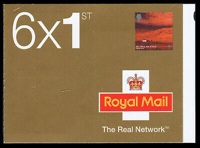 Great Britain 1st Class A British Journey: Scotland Booklet, Scott# 2147a