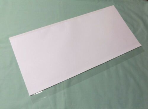 """5 - 12"""" x 26"""" Brodart Just-a-Fold III Archival Book Jacket Covers - super clear"""