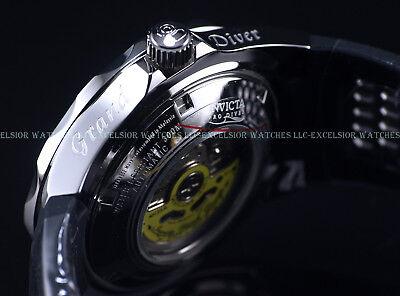New Invicta Men's 47mm GRAND DIVER NH35A Automatic Blue Dial Rubber Strap Watch