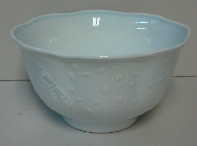 - Lenox BUTTERFLY MEADOW SKY (BLUE) Rice Bowl BEST CONDITION More Items Available