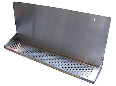 Draft Beer Tower Wall Mt Drip Tray 36 L W S.s. Grill - Drain Dtwm36ss