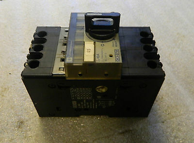 Telemecanique Optimal Breaker Isolator, Cat# GK3-EF40, 40 A, Used, WARRANTY