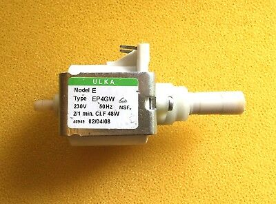 Usado, Original Electrobomba Bomba Ulka Ep4gw 230V Cafetera Automática Bosch Siemens segunda mano  Embacar hacia Argentina