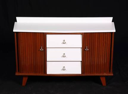 Upcycled mid century buffet cabinet-Delivery Available