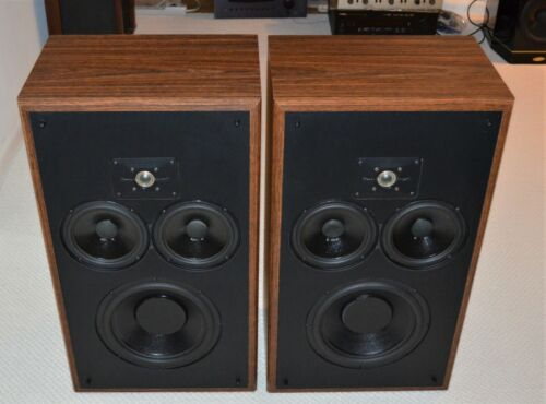 Classic Polk Monitor 10 Speakers Tested & Working VERY CLEAN