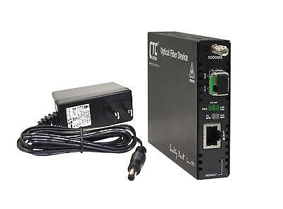 Gigabit Ethernet web managed fiber media converter WDM BiDi type A 20Km LC