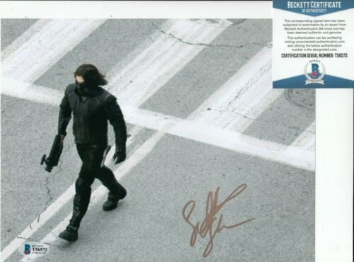 SEBASTIAN STAN signed (CAPTAIN AMERICA) Movie 8X10 photo BECKETT BAS T56572