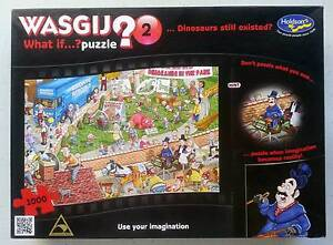 Wasgij 2 Jigsaw. What if Dinosaurs still existed? 1000 pieces. Victoria Park Victoria Park Area Preview