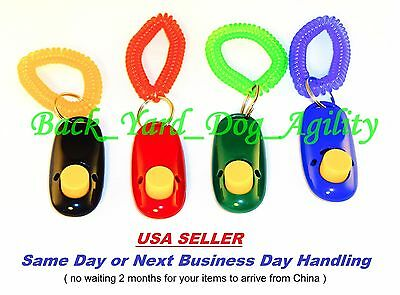 Dog Click Button Trainer, Obedience Training Aid & Guide, Clicker, Cat, Pet