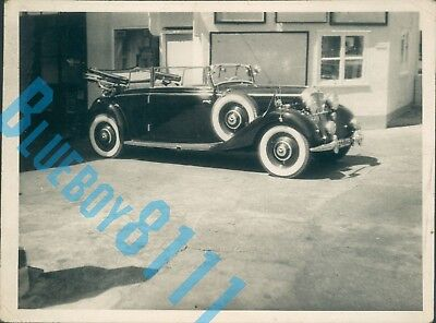 1930's Mercedes Benz 320  Dealer Stock Photo  5 x 3.5 inches