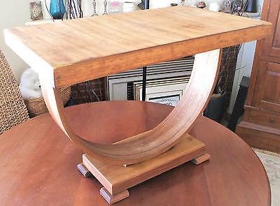 Vintage U-Shape Hoop base Art Deco Coffee Side Hall Table PickUP Newcastle
