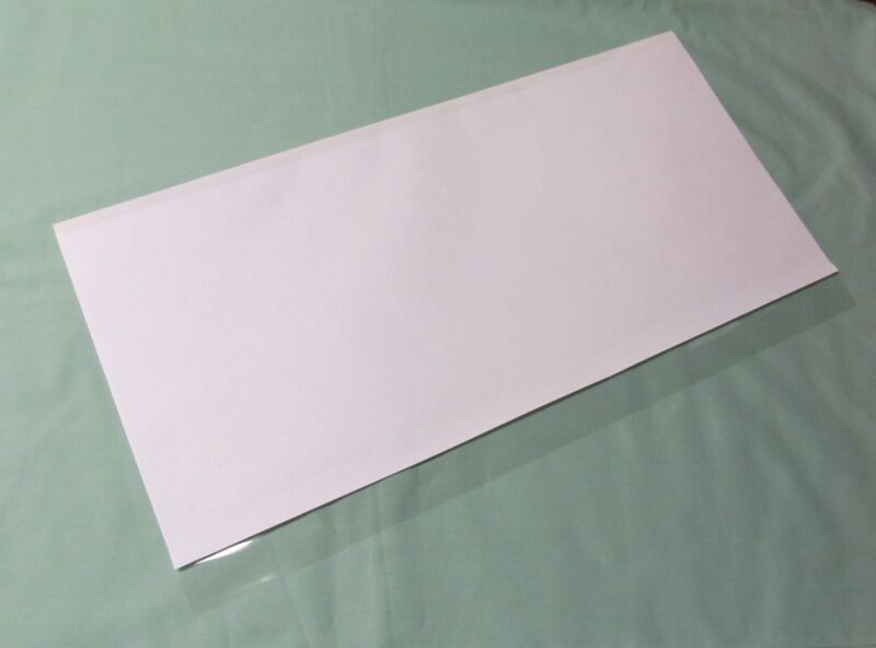 """1-14""""x28"""" Brodart Just-a-Fold III Archival Book Jacket Covers, Super Clear Mylar"""