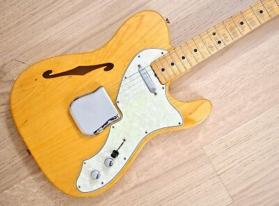 1968 Fender Telecaster Thinline Vintage One-Owner Guitar 100% Stock, Case & Tags