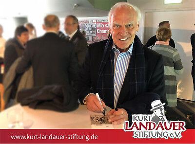 Autogrammkarte Franz Roth – FC Bayern - limitiert! Kurt Landauer Stiftung