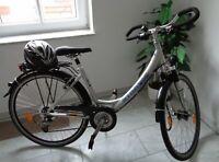 Herrenrad, Citybike, Fahrrad 28 Zoll, silber/schwarz, gebraucht Thüringen - Tanna Vorschau
