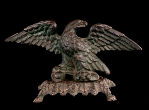 Antique Early American Federal Cast Iron Eagle  1850 - 2449