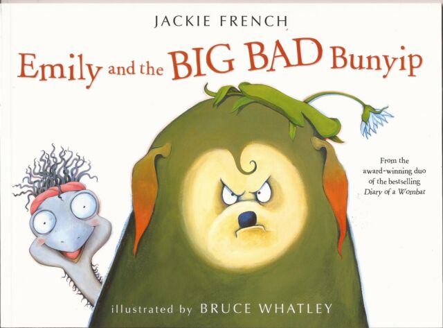 EMILY and the BIG BAD Bunyip Children's Picture Reading Story Book Jackie French
