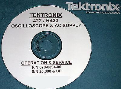 Tektronix 422 R422 Service Manual Hi-serial Numbers