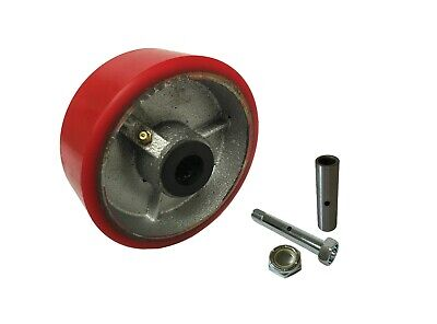 Caster Wheels Set 4 5 6 8 10 Polyurethane On Cast Iron Wheel Set