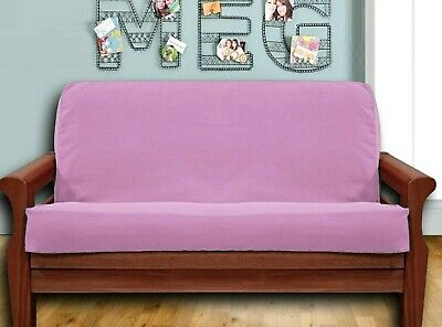 NEW - Rose Pink FUTON COVER - Full Size MADE IN USA Cotton Cotton Futon Cover