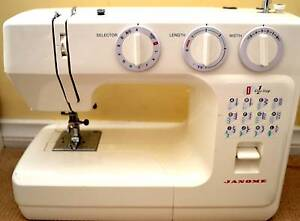 Janome Sewing Machine Safety Bay Rockingham Area Preview