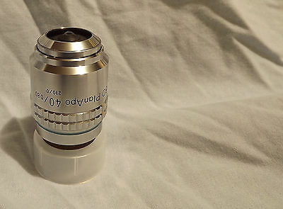 Nikon Bd Planapo 400.80 - 210mm Microscope Objective Plan Apo M26 Thread 40x