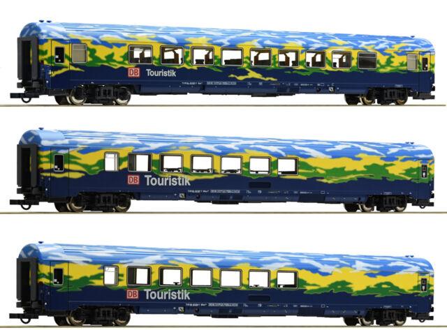 Roco 64164 Set 2 Touristikzug DB Epoche V H0 1:87 NEU & OVP