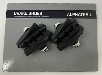 4x Bicicleta Pastillas Freno de Llanta 55mm Carreras Cuerda Zapatos