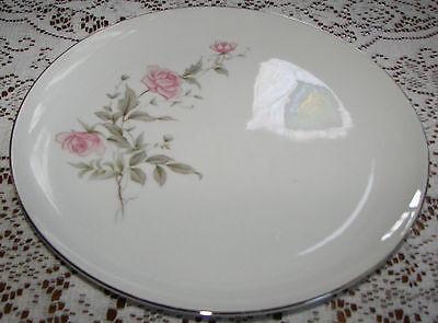 "Vintage Barker Bros. Japan 10 1/4"" Dinner Plate Pink Flowers 63-5827"