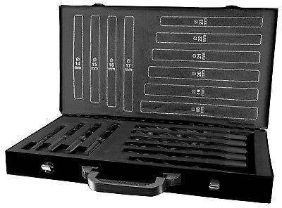 Terrax 10pcs. Morse Taper Drill Bits Set 14.0 - 23.0mm Hss Made In Germany