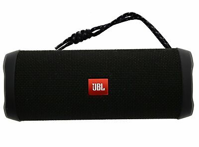 JBL Flip 4 Waterproof Portable Bluetooth Speaker (JBLFLIP4BLKAM) - Black USED