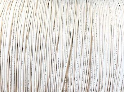 White 28 Awg Gauge Stranded Hook Up Wire 25 Ft Ul1007 300 Volt