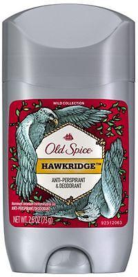 Spice Scent - Old Spice Wild Collection Hawkridge Scent Men's Deodorant 2.6 oz