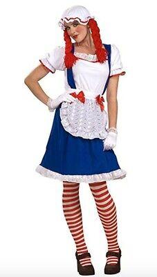 Raggedy Ann Rag Doll Costume (Large)