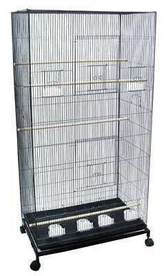 "55"" Extra Large Flight Multiple Parakeets Canaries Finches LoveBird Bird Cage 69"
