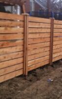 SOLID STRUCTURE FENCING