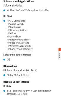 HP x 360 11ab102tu Touchscreen 2 in 1   Laptops   Gumtree