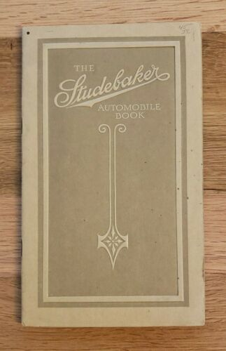 1914 Studebaker Fours and Sixes Sales Catalog Booklet