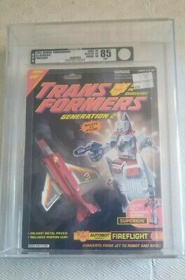 Transformers Generation 2 Fireflight (Hasbro 1993) AFA 85 85/85/90