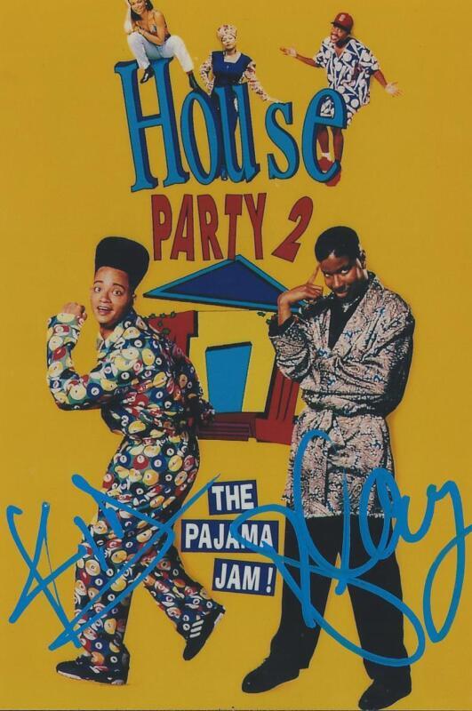 Kid N Play signed/auto Music Hip Hop House Party RARE COA LOOK!!
