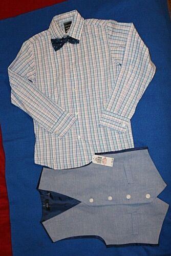 Nautica size 10 Vest, Pants, Shirt, Bow Tie Set retail $84